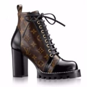 lace up booties louis vuitton