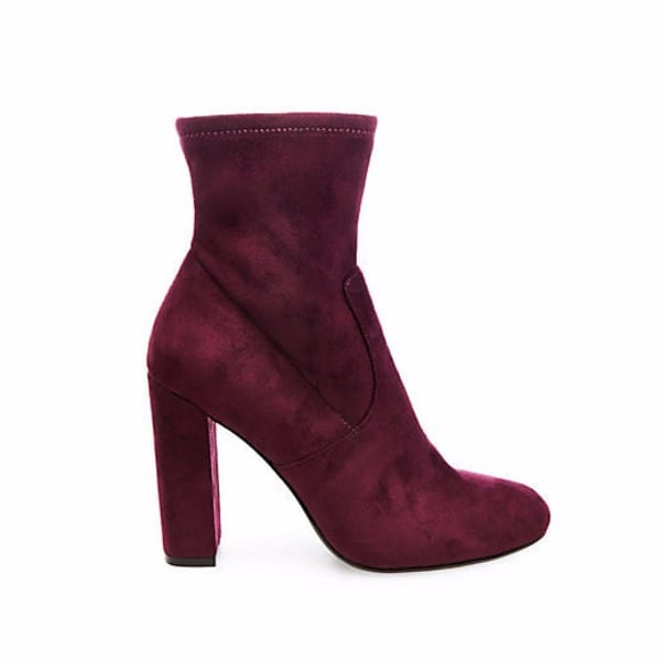 suede ankle booties steve madden