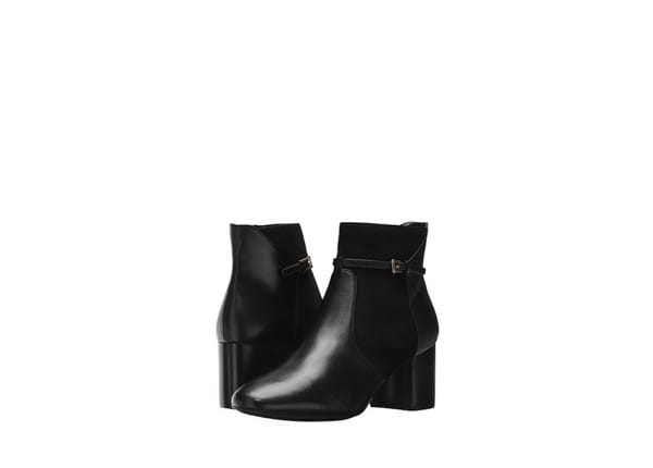 cole haan Black strap ankle booties
