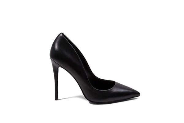 STEVE MADDEN Black Madden leather heels